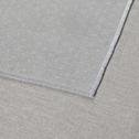 Nappe en lin et coton vert réversible 145x145cm-ALICE