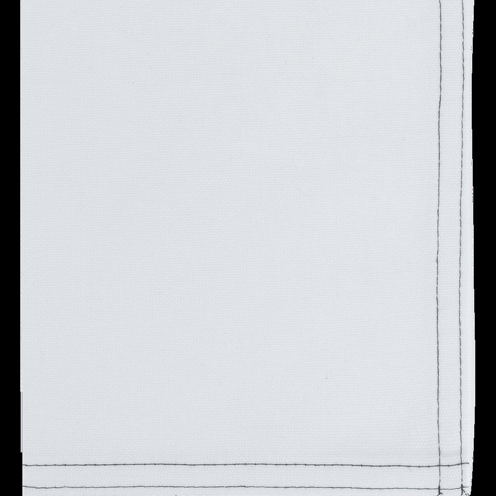 Set de table en coton blanc 30x45cm-VENASQUE