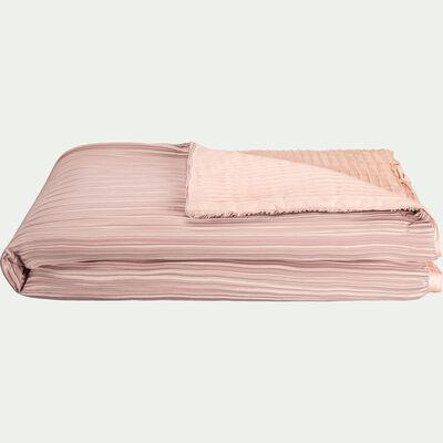 Édredon en coton rose argile 180x100cm-PORTOFINO