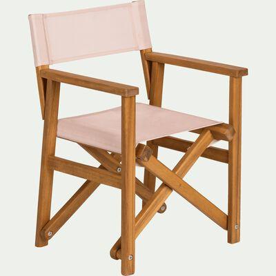 Chaise de casting enfant rose grege-LUZ