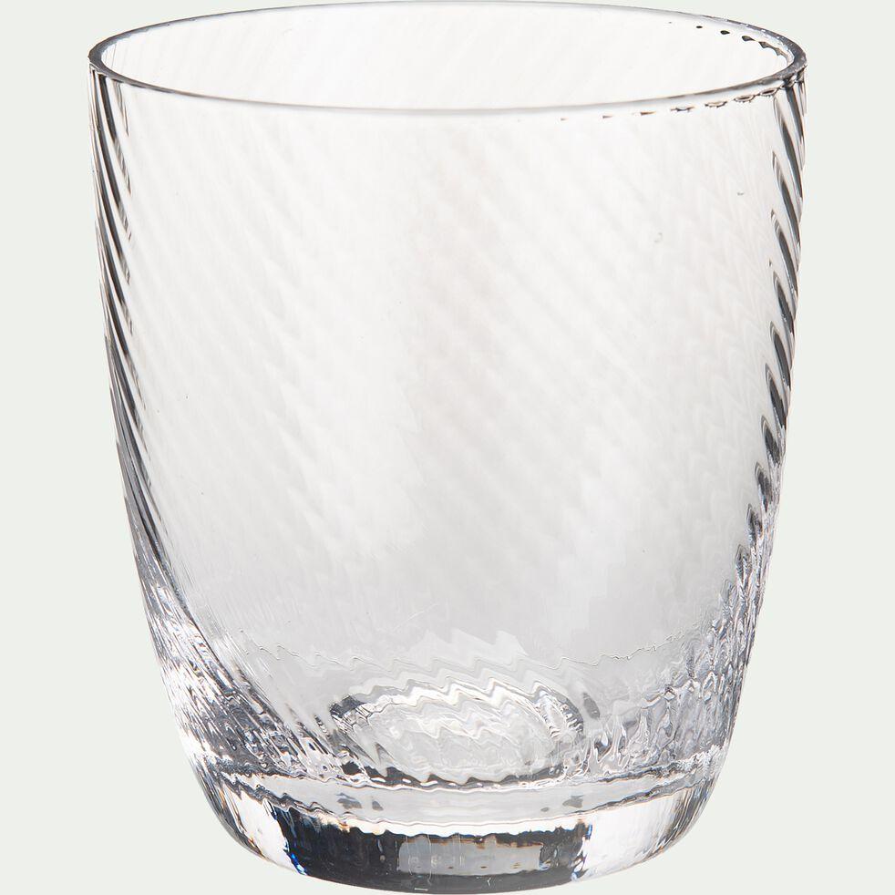 Verres à eau 38cl en verre - transparent-DOURGO