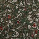 Housse de couette et 2 taies d'oeiller - vert 260x240cm-ALBITRU