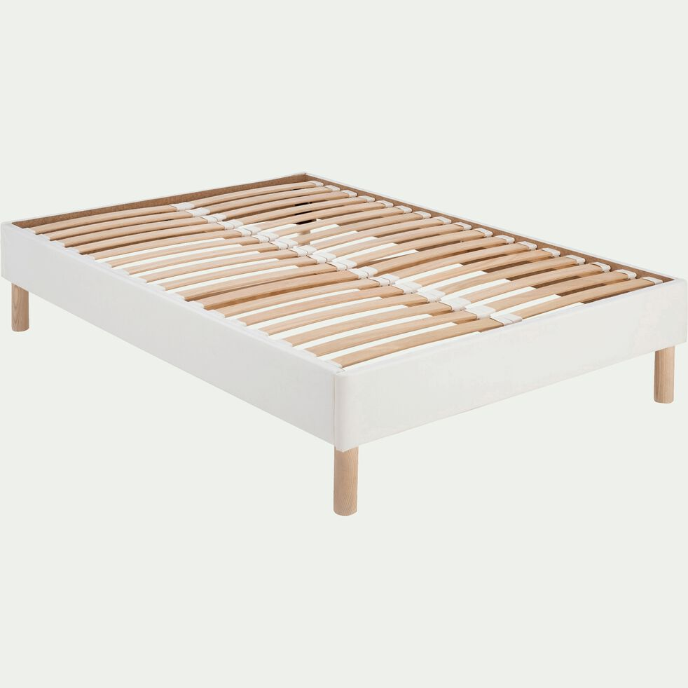 Sommier avec caisse en bois - 140x200 cm-TOPAZE