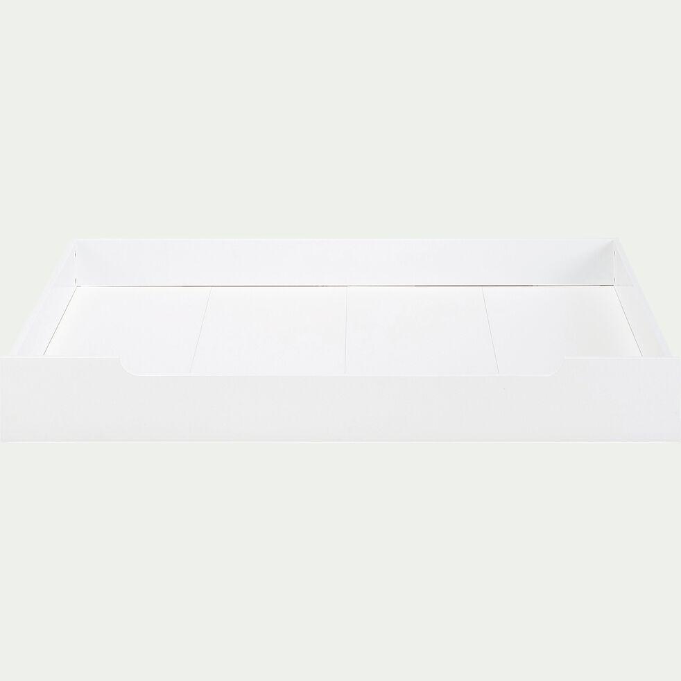 Tiroir de lit en bois - blanc-POLLUX