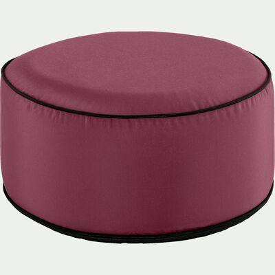 Pouf de jardin en tissu - rouge cade D53cm-Caprice