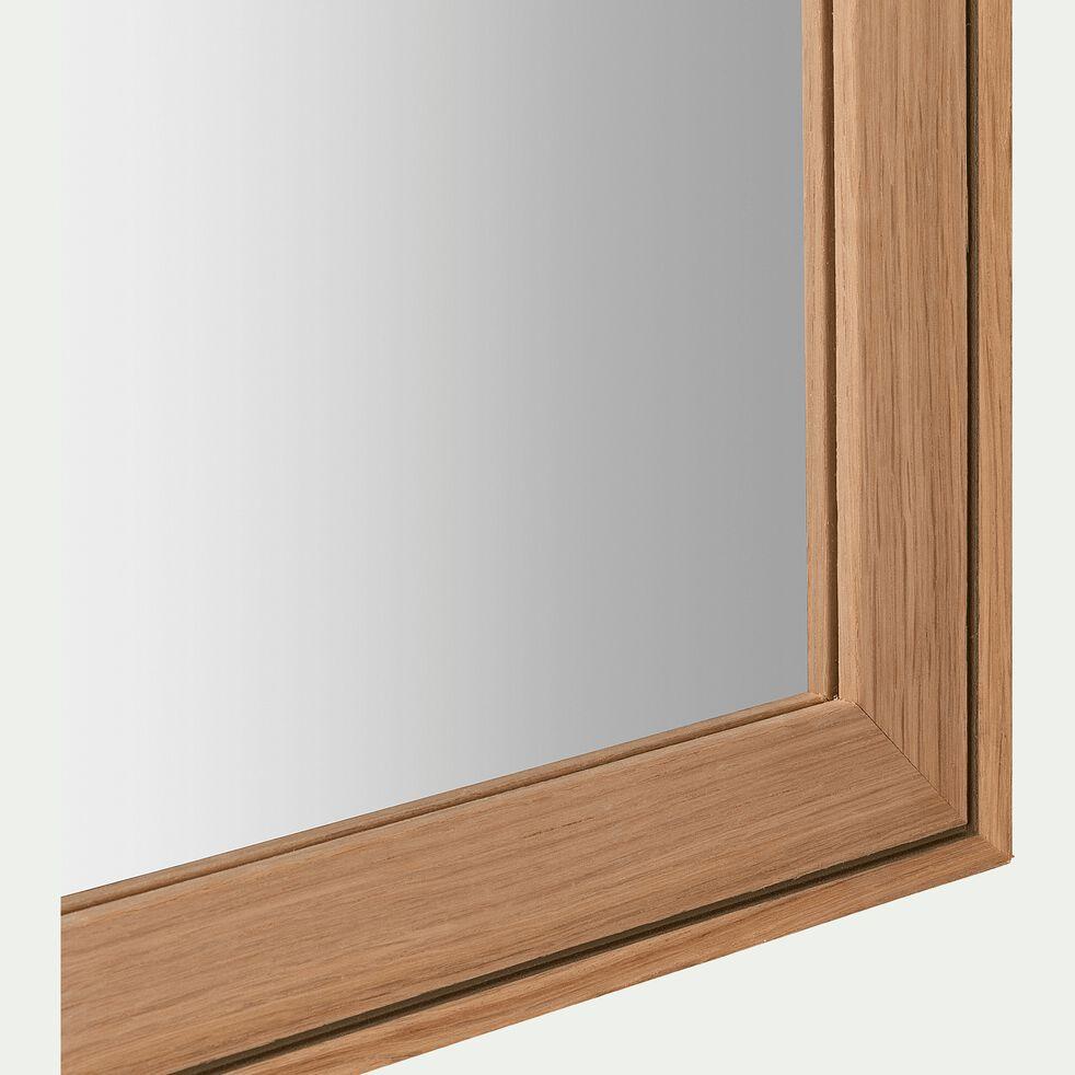 Miroir en bois de hêtre - naturel 40x100cm-DELPHINE