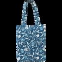 Parure de lit en coton motifs œillets - 260x240 & 63x63 cm-RACHEL