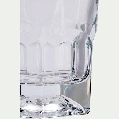 Chope à bière en verre 37cl-PROVENZA
