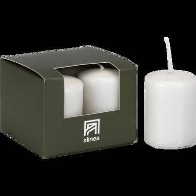 4 bougies votives gris borie-HALBA