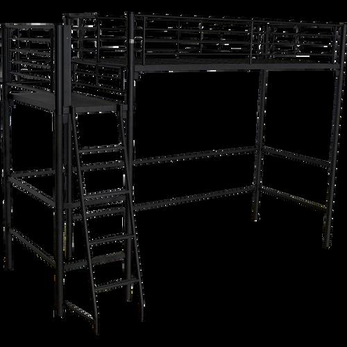 lit mezzanine alinea achat en ligne de lits mezzanine chambre lits literie et linge alinea. Black Bedroom Furniture Sets. Home Design Ideas