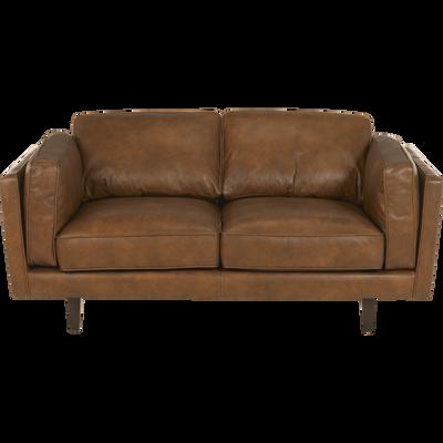 Convertible Fixe Cuir QualitéAlinea Confort Canapé Et 9IDWHE2