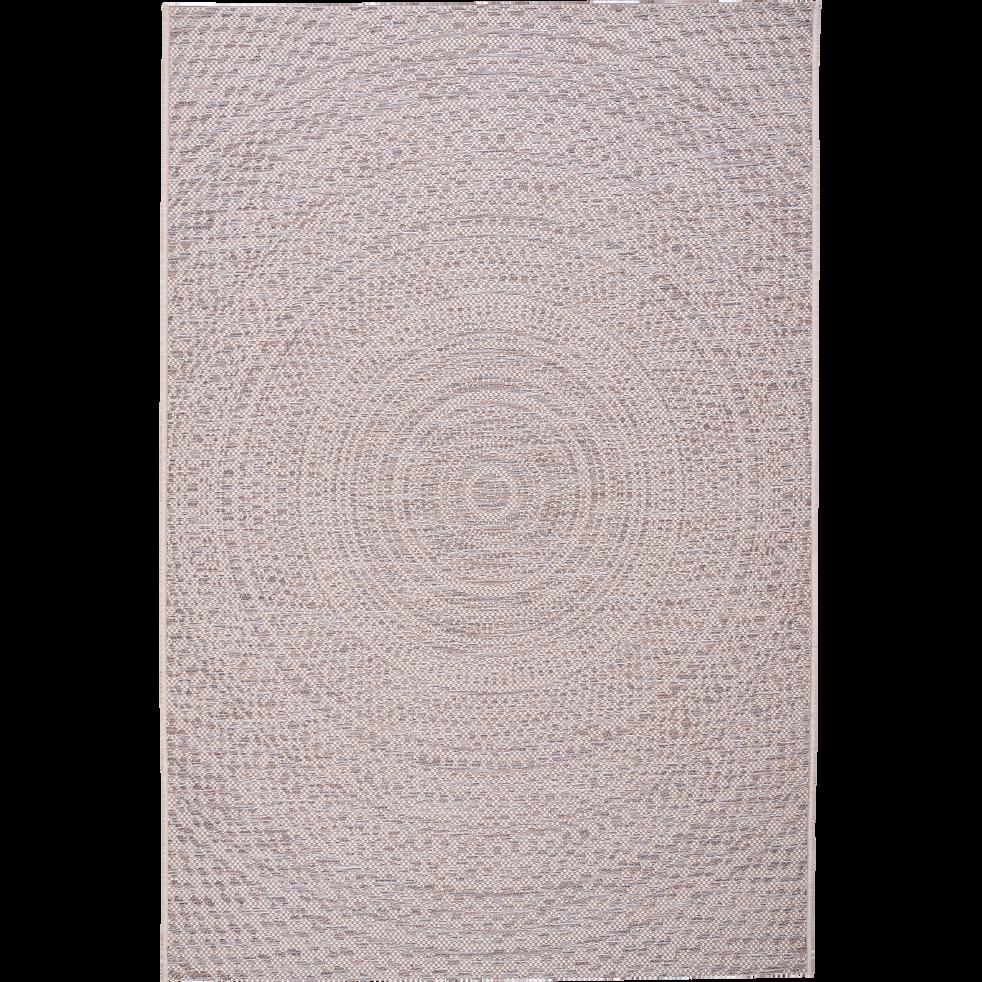 Tapis ext rieur et int rieur cru 160x230cm hypnose 160x230 cm grands tapis de salon alinea - Tapis alinea salon ...