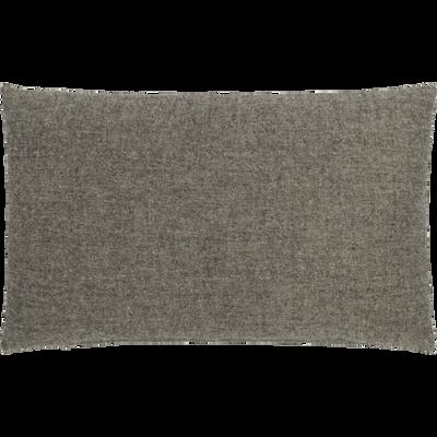 Coussin en polyester gris clair 30x50cm-CORBIN