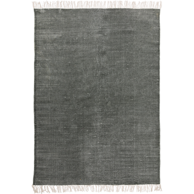 Tapis tissé plat vert cèdre 100x150cm-PALMA