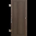 Porte pleine coloris chêne grisé-Biala