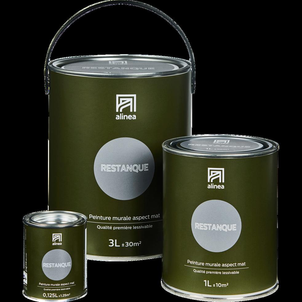 Peinture acrylique mate multi-supports 1L gris restanque-PEINTURE