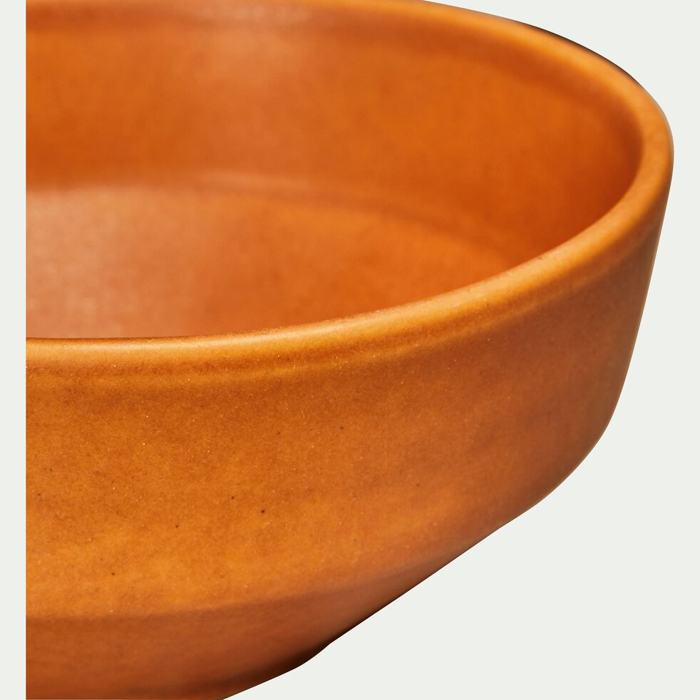 Coupelle en grès orange D15cm-COPA