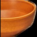 Coupelle en grès orange D15cm-COPA