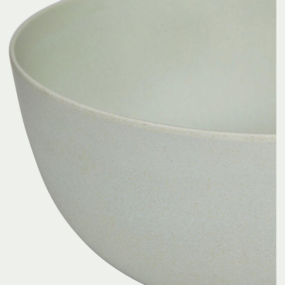 Saladier en matières végétales - vert olivier D32cm-HINX
