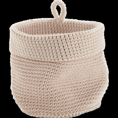 Panier en crochet Nougat Ø15 cm-HONNORE