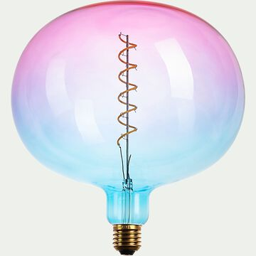 Ampoule LED déco à filament globe lumière chaude 4W - multicolore D22cm-AMPOULE