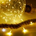 Guirlande lumineuse LED en corde 3m-ZAG