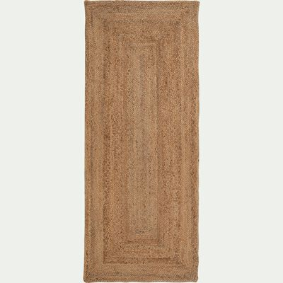 Tapis en jute - naturel 80x200cm-RUSH