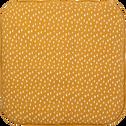 Tapis pour tipi 100x100 cm beige nèfle-LUENS