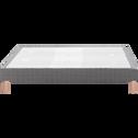 Sommier tapissier 160X200cm-BASTIDE MEDIUM