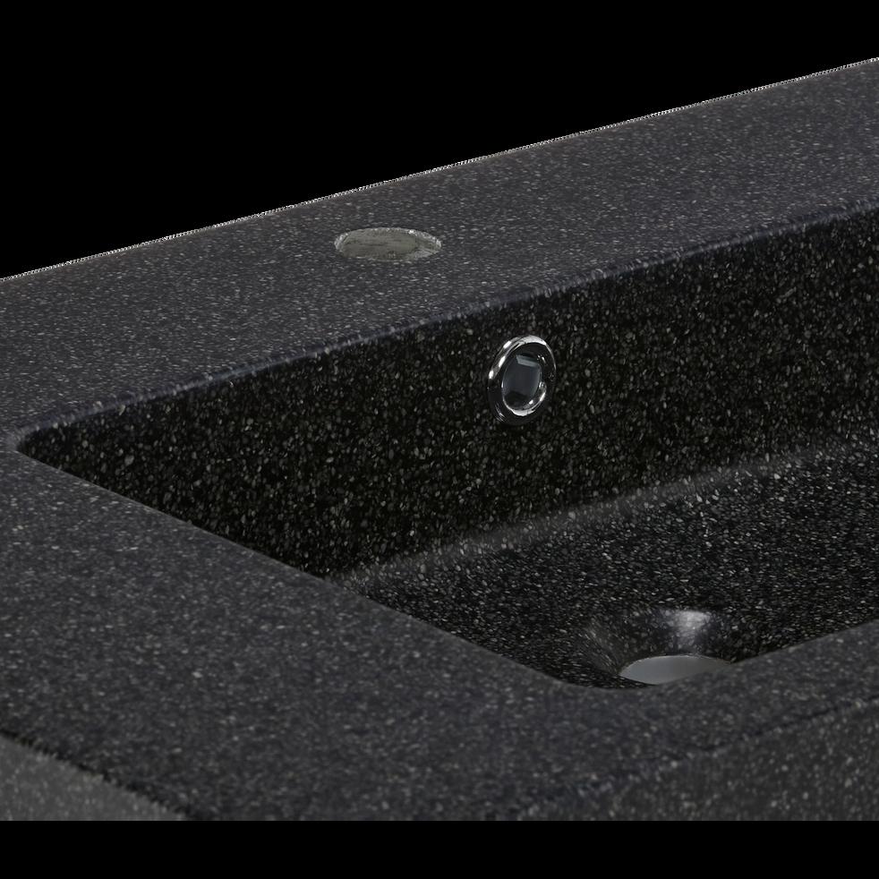 Plan vasque en pierre reconstituée L80cm-SOURCE