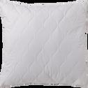 Oreiller synthétique piquage matelassé - 65x65 cm-Fermeté
