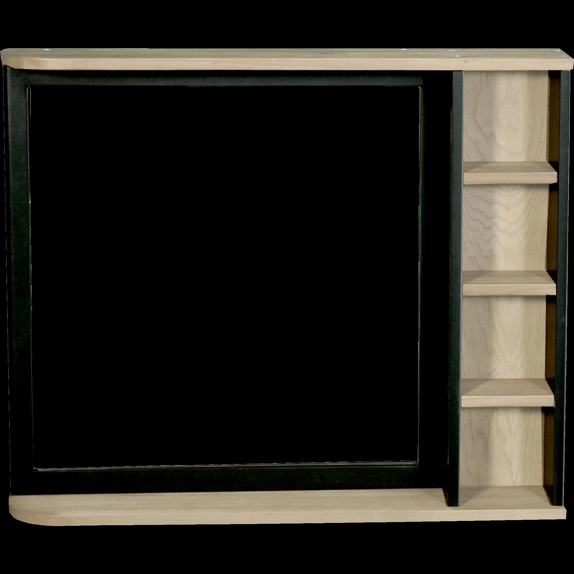 Miroir Rectangulaire De Salle De Bains En Acacia Massif 90cm PITAYA