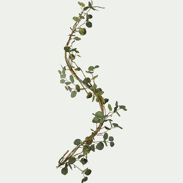 Branchage artificiel eucalyptus grimpant - vert L150cm-EUCALYPTUS