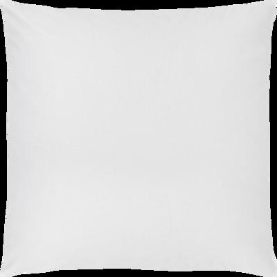 taie d'oreiller en coton lavé blanc 65x65 cm-CALANQUES