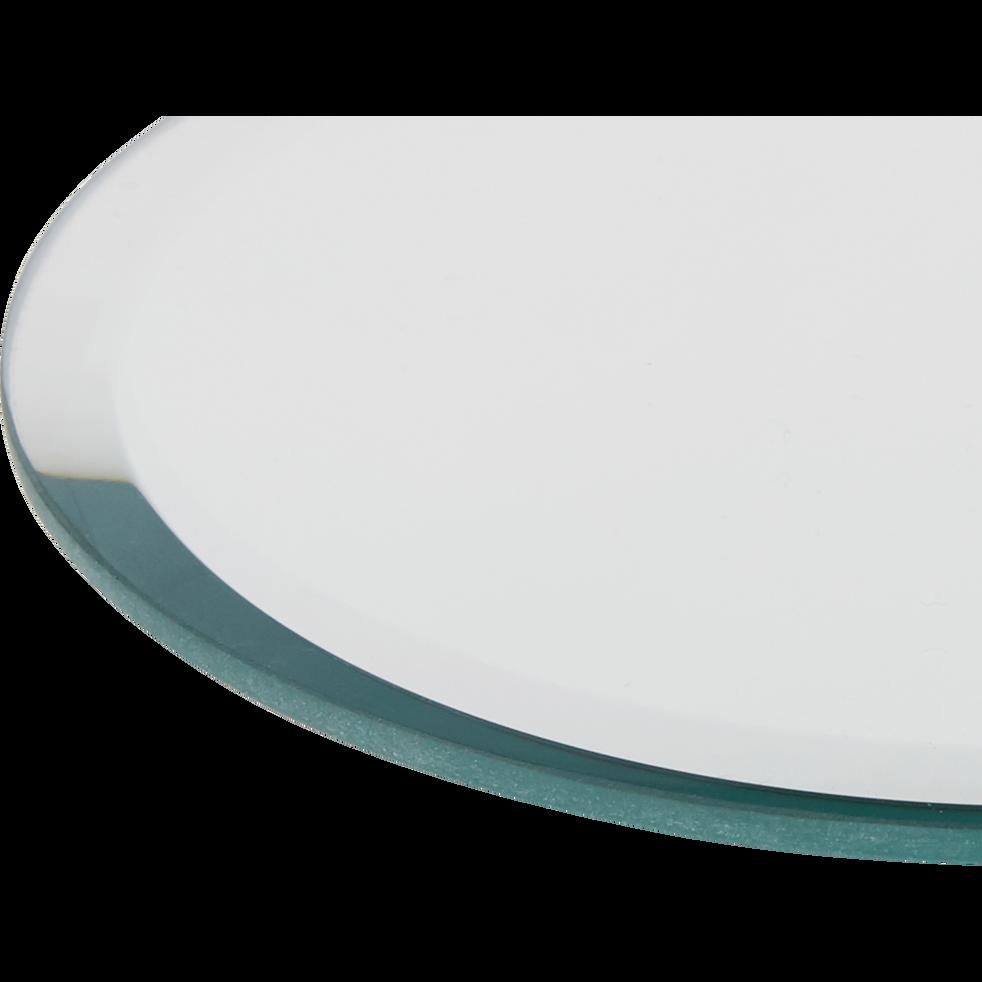 Plateau miroir rond D12,5cm-ARENAS