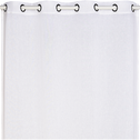 Voilage à oeillets blanc ventoux 135x360cm-DUNE