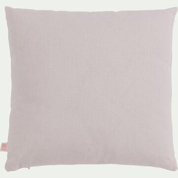 Coussin en coton - rose simos 40x40cm-CALANQUES