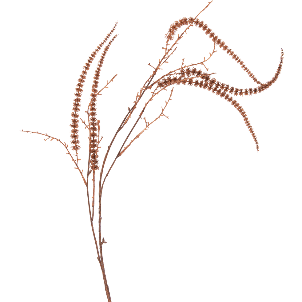 Branche artificielle orange H110cm-AMARANTE