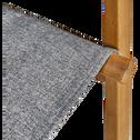 Fauteuil de jardin en acacia et tissu-ESCALET