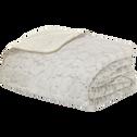 Couvre lit imitation fourrure 220x250cm-Sofy
