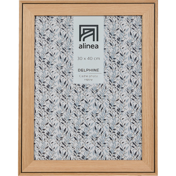 Cadre photo en hêtre 30x40 cm-DELPHINE