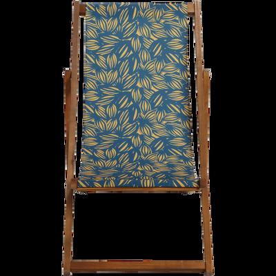 Chaise longue de jardin en acacia-UDINE