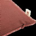 Coussin en coton rose 40x40cm-CALANQUES