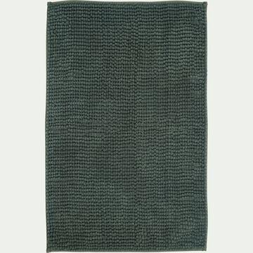 Tapis de bain rectangulaire antidérapant - l50xL80cm vert cèdre-Picus