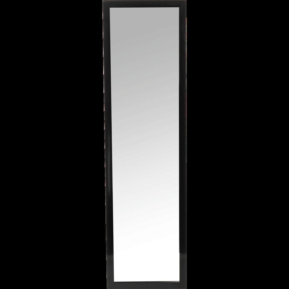 Miroir rectangulaire noir (30x120cm)-Chipi