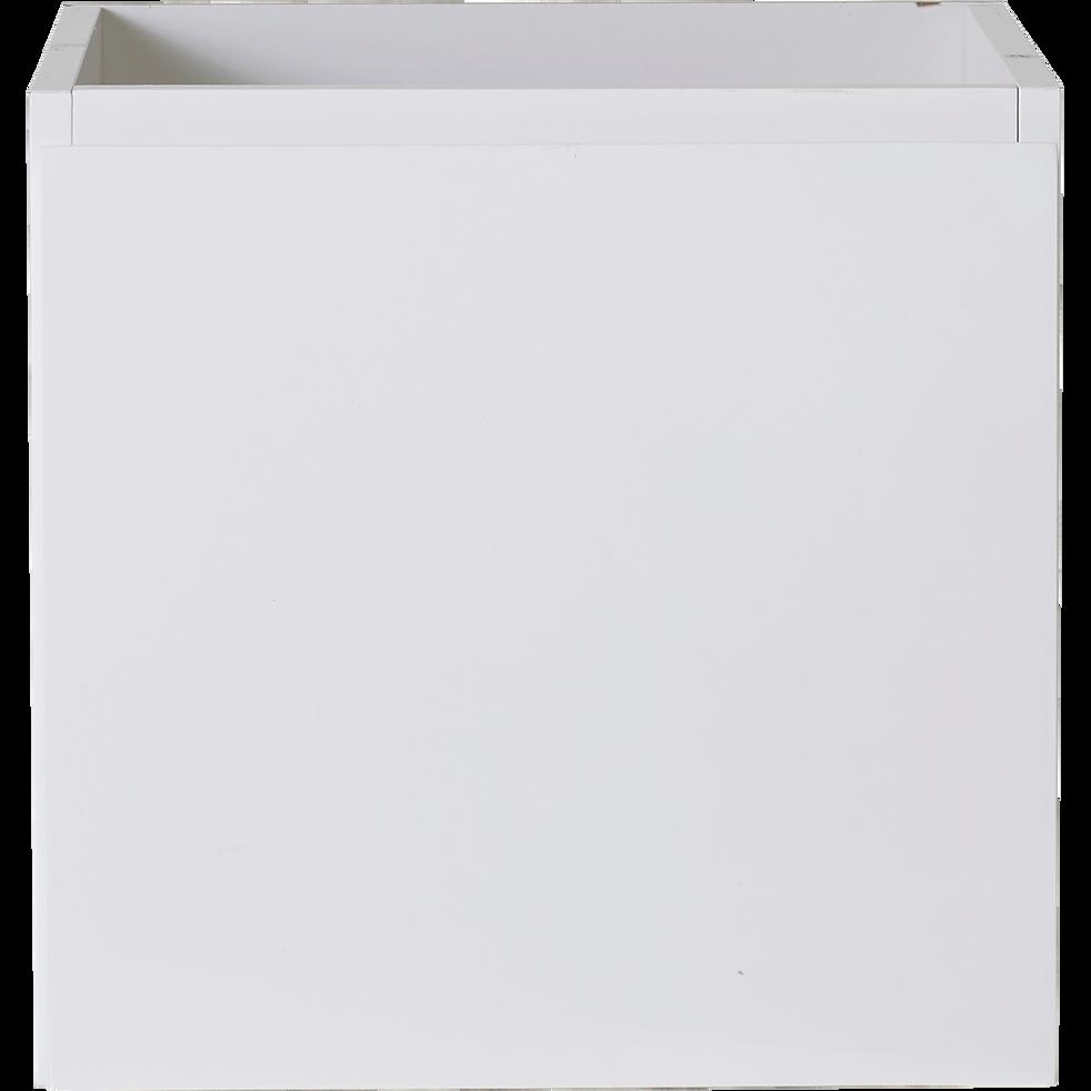 Bloc 1 porte blanche-Lorena