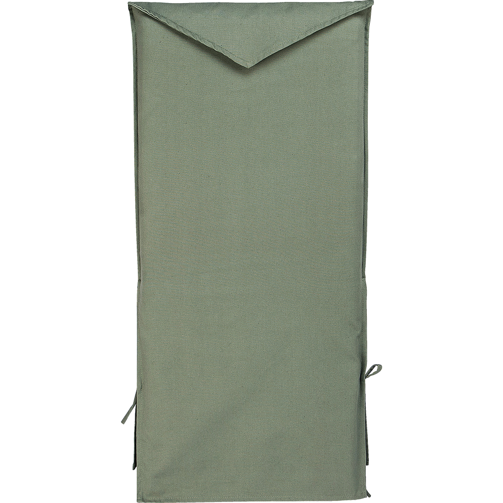 Housse de chaise en coton vert cèdre-LILY