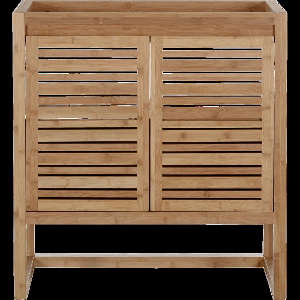 Meuble sous vasque avec portes 80cm danong 80 cm meubles sous vasques alinea - Meuble sous vasque alinea ...