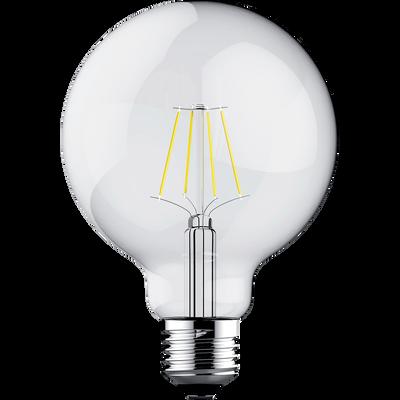 Ampoule LED décorative D9,5cm culot E27-GLOBE