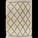 Tapis à franges d'inspiration berbère 120x170cm-ALINE